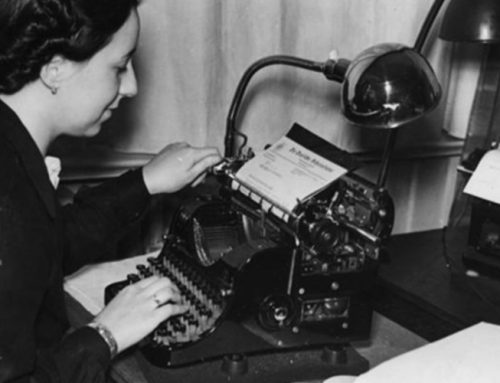How Stenographers Became Critical During WW2